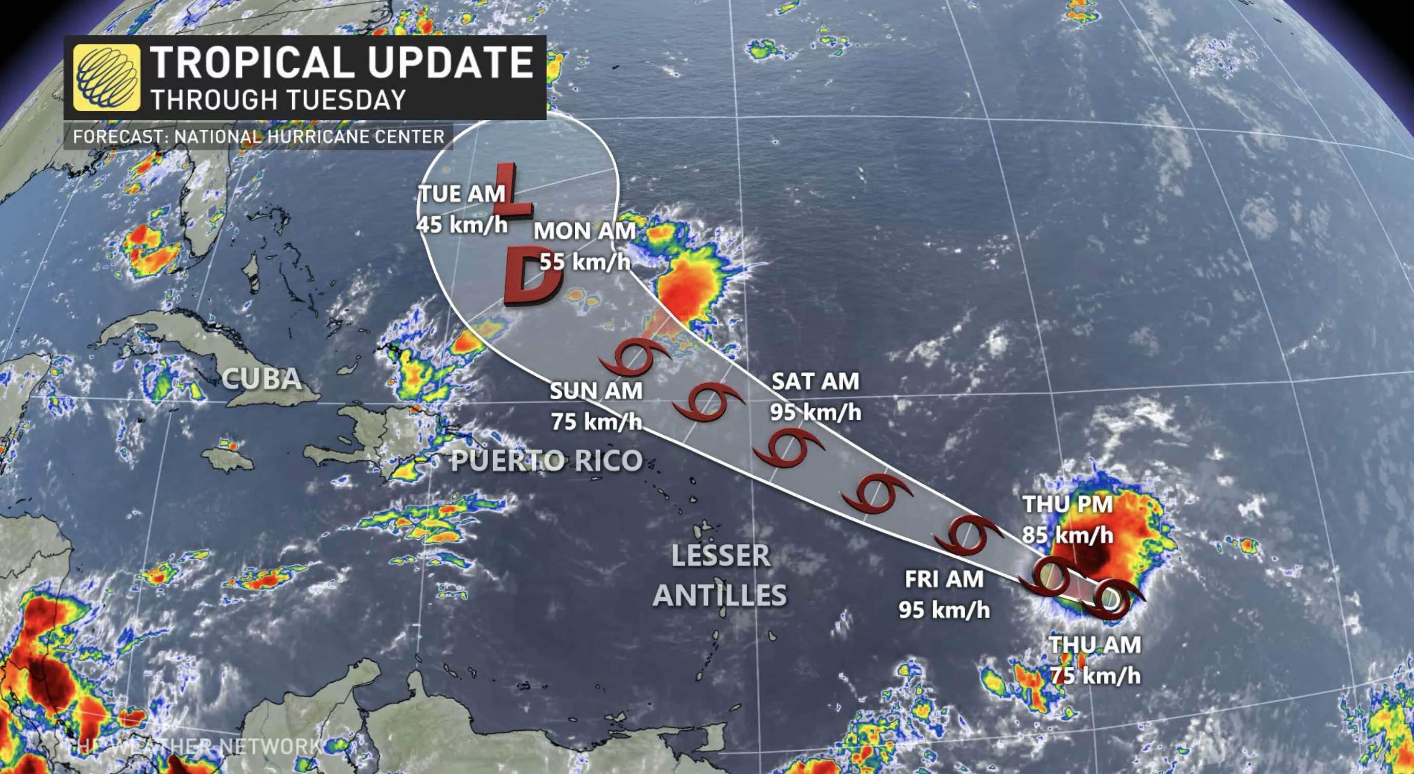 Tropical Storms Kyle And Josephine Won't Be A Problem For Us