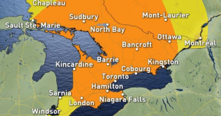 Ontario: Another day in the furnace, with strong storm risk