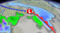 A welcome warmup looming on the Prairies as wintry weather eases