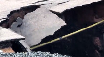 Climate change causes sinkholes, unstable bridges, ruptured pipelines