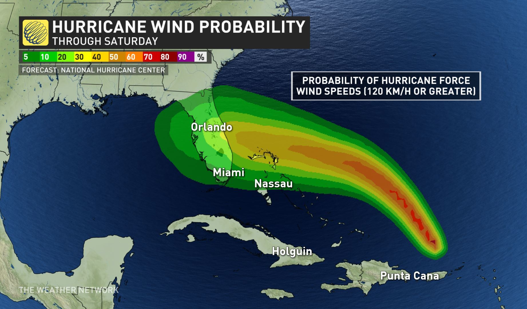 Hurricane Dorian expected to strengthen to a Category 2 hurricane today