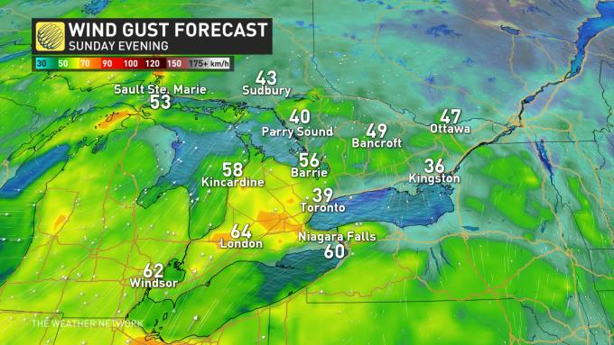 The Weather Network - Ontario: Severe thunderstorm watches, gusting ...