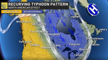 How twin typhoons MAJORLY complicate summer's end in Canada