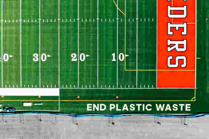Aerial EPW Football Field