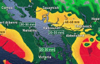 BC: One more rainy blast from atmospheric river before drier days
