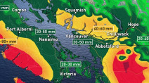 BC: More rounds of rain before longer dry spell