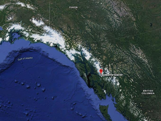 Southeast Alaska glacier