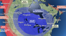 WINTER FORECAST: Cold, snowy, long winter for millions of Canadians
