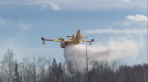 Fire destroys six cabins in Beaver Creek Provincial Park, Manitoba