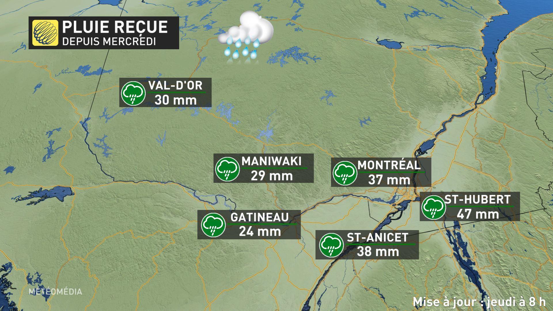Plus de 100 000 personnes privées de courant au Québec