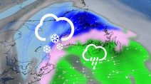 Atlantic: Eyes on next system set to bring snow to Maritimes, Nfld