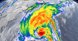 Hurricane Teddy gets 2X its size in the next 24 hours, will impact East Coast