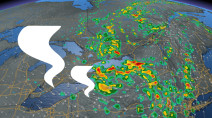 Risk of funnel clouds, water spouts in Ontario as storm risk lingers
