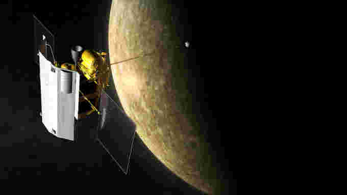 MESSENGER - spacecraft at mercury - NASA-JHUAPL