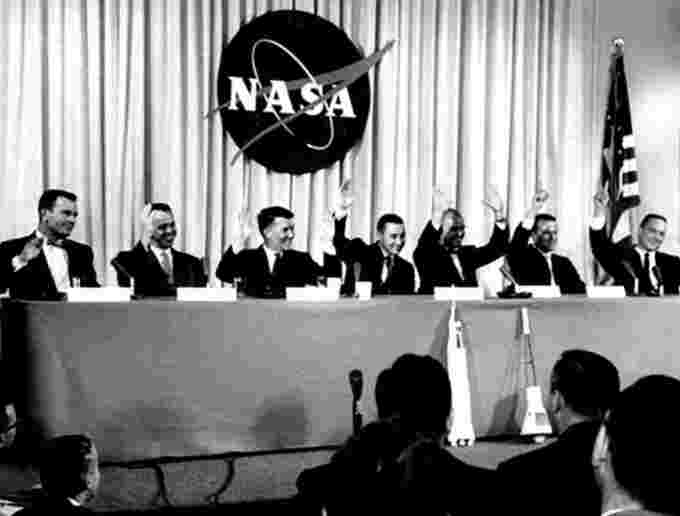 Introduction of Mercury 7 Courtesy NASA
