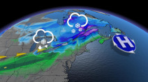 Messy weekend system shaping up for Ontario after brief return of warmth