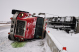 IN PHOTOS: Brutal travel across Ontario amid snow, strong winds