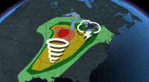 Severe weather threat targets 70 million Americans