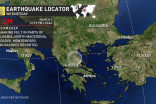 Magnitude 6.3 earthquake strikes central Greece, felt in the Balkans