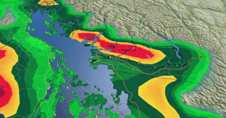 B.C.: Latest messy system comes to an end, drier weekend next