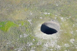Enormous mystery sinkhole appears in Siberia, puzzles researchers
