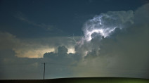 IN PHOTOS: Wicked lightning, hail from overnight Ontario storms