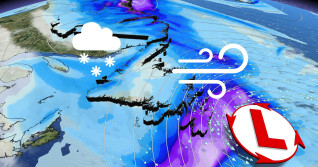 Dangerous blizzard-like conditions threaten Newfoundland, 30+ cm possible