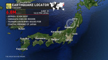 Strong earthquake hits Japan, prompts tsunami advisory