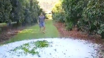Must see: Rounds of intense hail cause damage in Australia