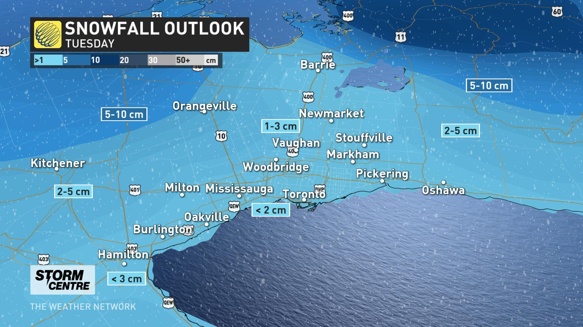 Snow squall watch has ended for Niagara