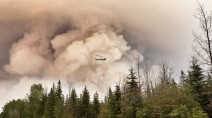 Alberta: Thousands evacuated in north due to fire threat