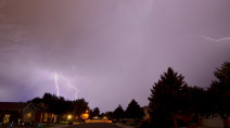 Orages violents : un week-end tumultueux en perspective