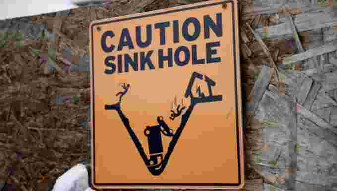 cbc sink hole sign