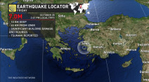 Powerful earthquake strikes Aegean Sea, rocking Turkey, Greece