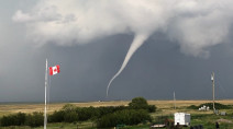 Severe risk includes damaging storms, tornado potential in Alberta