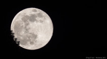 "Tuesday's ""Full Pink Moon"" was the biggest, brightest supermoon of the year"