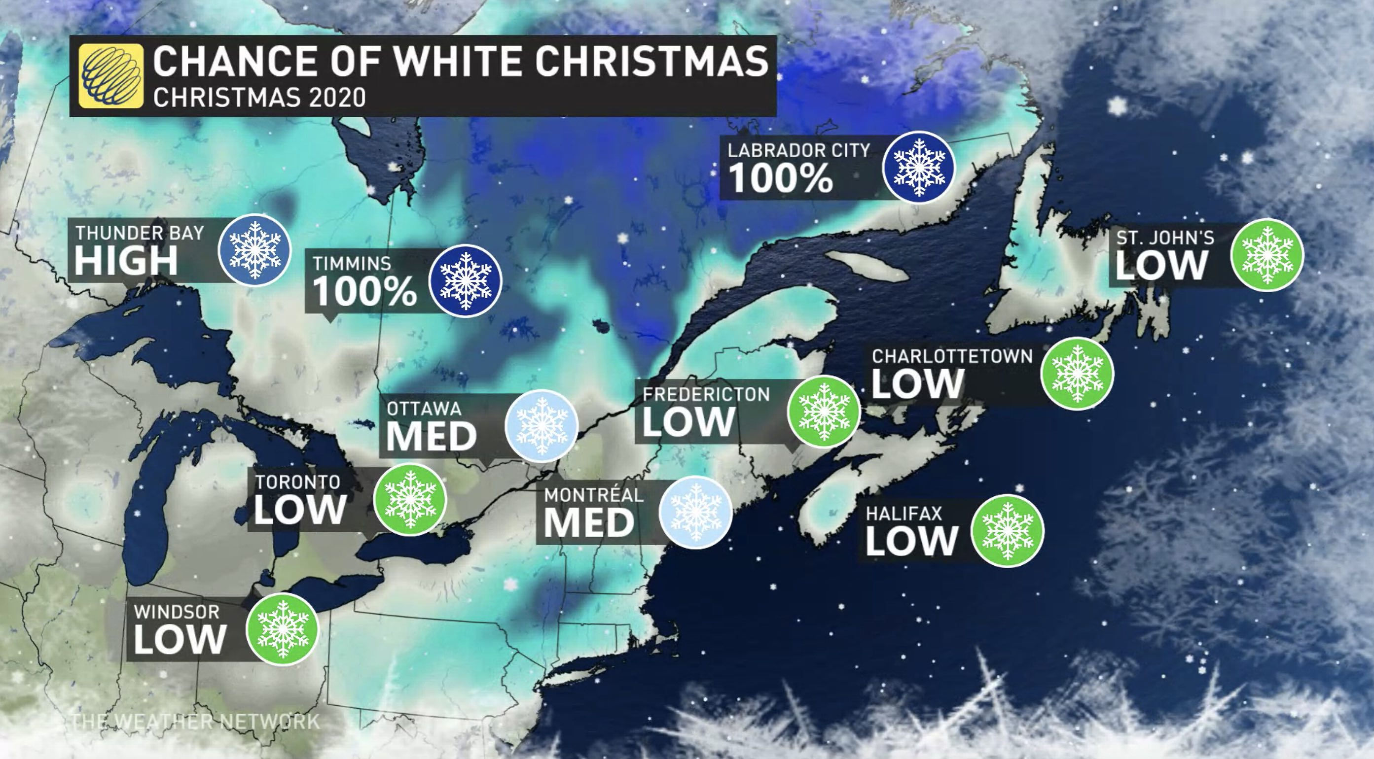 Warm Wednesday Ahead; Big Changes For Christmas Eve & Day