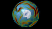 Ozone Hole is recovering, and literally changing the weather
