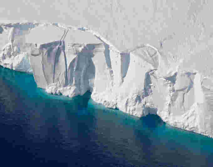 West Antarctic Getz Ice Shelf NASA