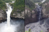 Immense sinkhole causes Ecuador's tallest waterfall to suddenly vanish