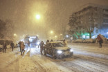 PHOTOS: Madrid, Spain begins to dig out after historic snowfall