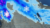 Warming trend on the horizon for the Prairies, but wintry weather isn't over yet
