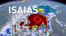 Tropical Storm Isaias has potential to become a hurricane on Friday