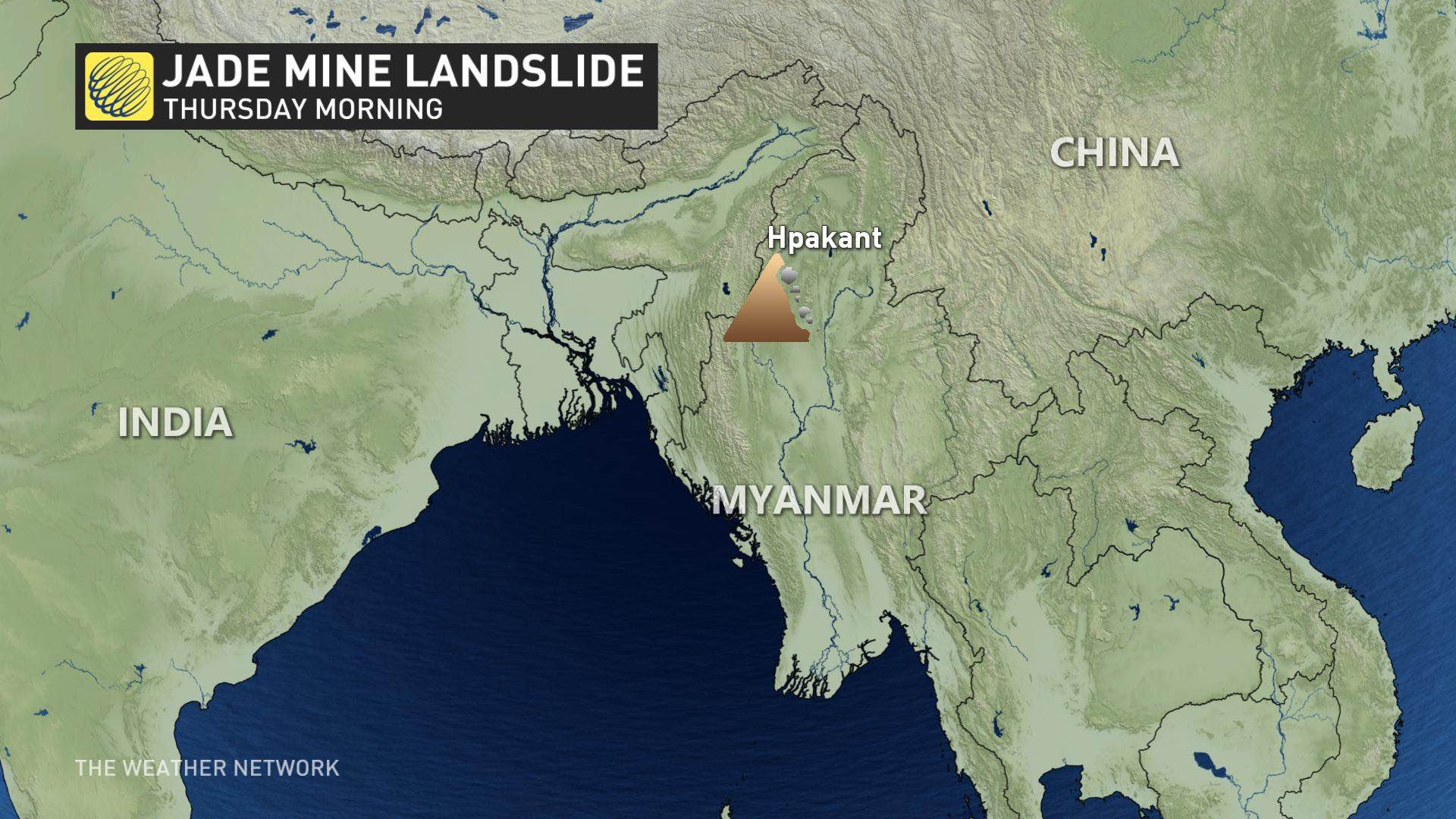 Over 100 killed in Myanmar landslide