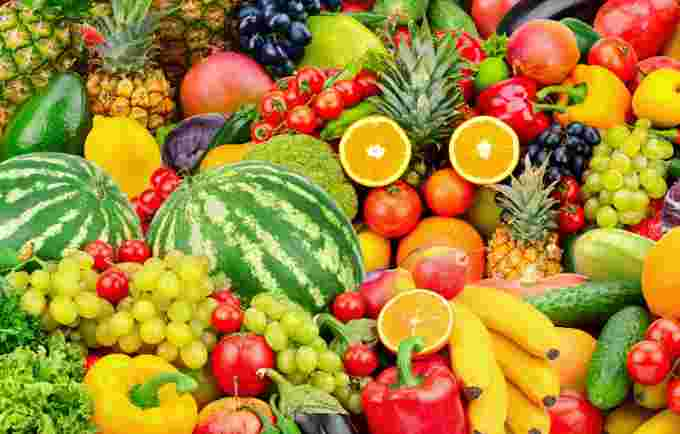 GETTY IMAGES fruit and vegetables