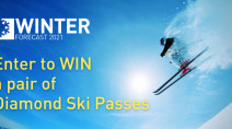 CONTEST: Ski your way into winter with Diamond Lift Passes!