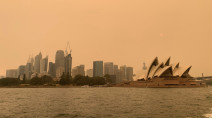 Huge fire near Sydney may burn for weeks, intense haze reported