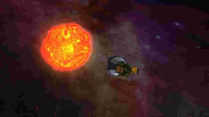 Solar Probe Plus Artist rendering NASA-JHUAPL