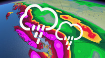 Atmospheric river continues to pump in soaking rains, blustery winds in B.C.
