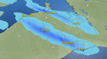 Ontario: Lake-effect machine back in action, temperatures plunge